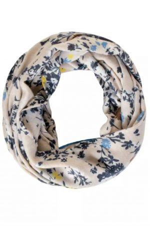 cecil loop scarf cecil print loop scarf cecil navy print loop scarf