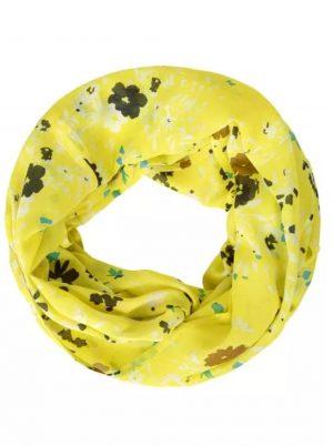 cecil loop scarf cecil print loop scarf cecil fresh yellow loop scarf
