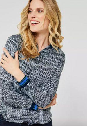 cecil shirt cecil blouse anchor print blouse anchor print shirt anchor pattern blouse anchor pattern shirt