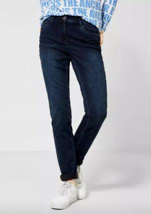 cecil toronto jeans cecil high waist jeans cecil straight leg jeans