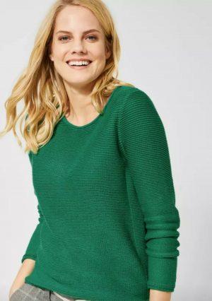 100% cotton jumper 100% cotton cecil jumper green jumper cecil green jumper