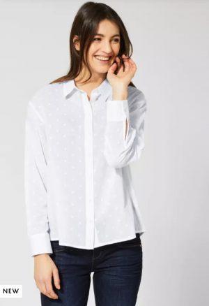 street one white shirt street one white cotton shirt street one 100% cotton shirt street one oversized shirt street one crisp white shirt