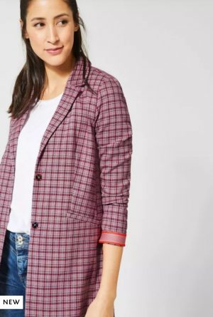 street one check jacket street one longer length blazer street one casual blazer street one dreamy rose blazer casual blazer