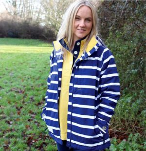 lazy Jacks rainjacket lazy jacks raincoat lazy jacks waterproof jacket lazy jacks waterproof coat stripe waterpoof jacket nautical rainjacket nautical raincoat