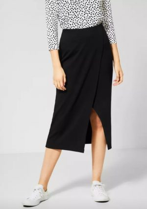 street one jersey skirt street one black skirt street one midi skirt