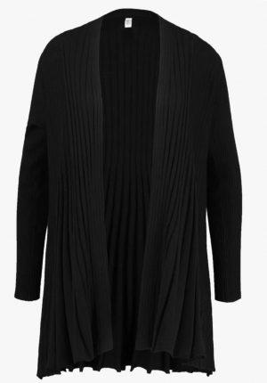 freequent claudisse l car black longer length cardigan long black cardigan