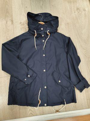 freequent fqtobia ja cream copenhagen night hooded jacket summer jacket summer rainjacket navy hooded jacket