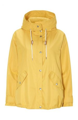 freequent fqtobia ja cream gold yellow hooded jacket summer jacket summer rainjacket