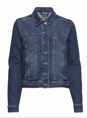 fransa denim jacket frivstitch 1 jacket 68802 short denim jacket