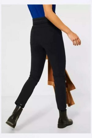 street one black skinny pants ankle grazer length with high waist perfect fitting