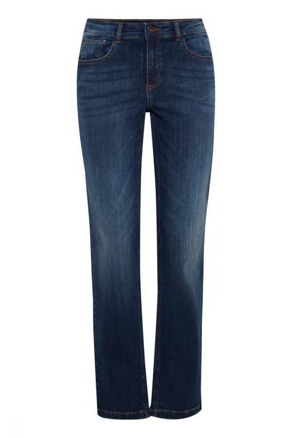 straight leg high waist jeans byoung