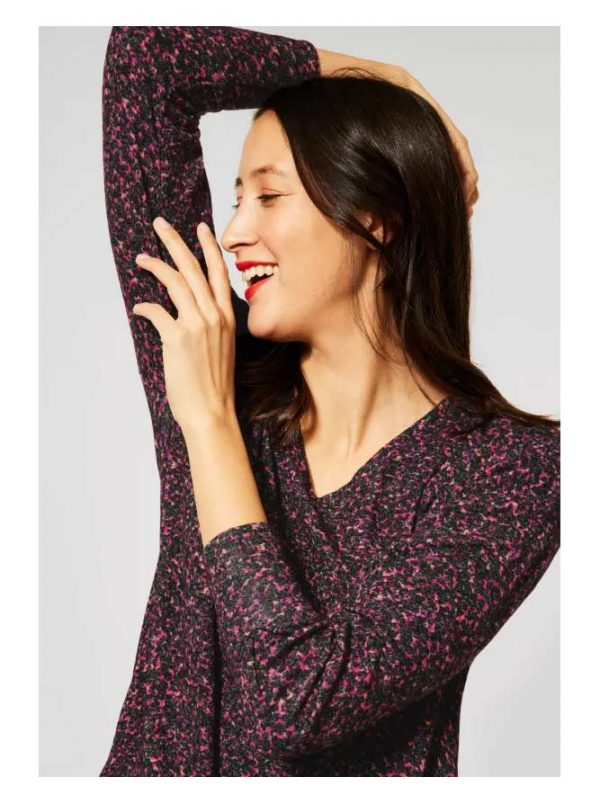 cosy v neck top street one