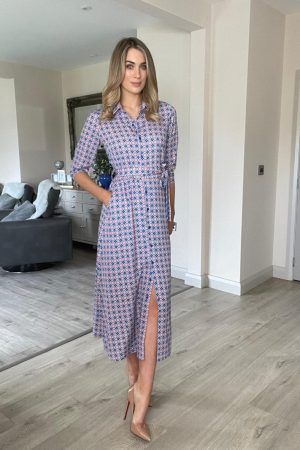 kate and pippa shirt dress with pockets