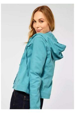 cecil denim style jacket with hood